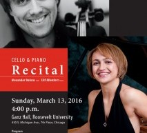Cello And Piano Recital: Alexander Debrus And Elif Allenfort